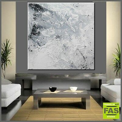 Original Abstract Painting Textured Canvas 120cm x 120cm - Franko - Australia