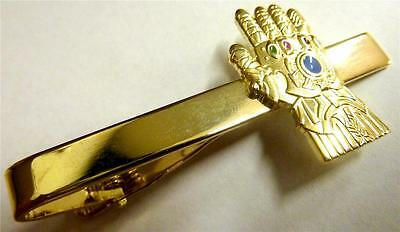 INFINITY GAUNTLET Thanos Glove Thor Artifact Avengers  GotG Marvel Tie Bar Clip