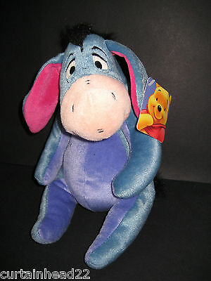 Plush Disney Eeyore Soft Toy With Tag