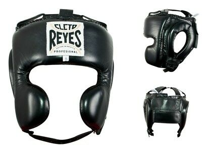 Cleto Reyes Cheek Protection Headgear (Black)