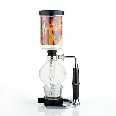 1PC Syphon Vacuum Coffee Maker Coffee Siphon Maker Brewer Tool