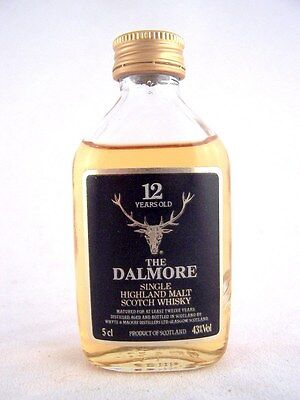 Miniature circa 1976 THE DALMORE 12YO Malt Whisky Isle of Wine