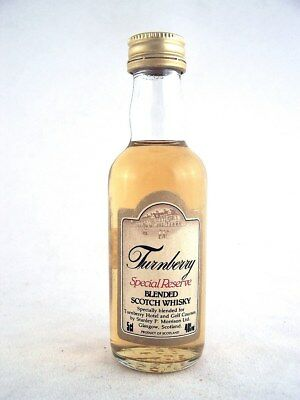 Miniature circa 1975 TURNBERRY Special Reserve Scotch Whisky Isle of Wine