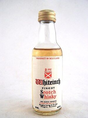 Miniature circa 1979 WHITEINCH Scotch Whisky Isle of Wine
