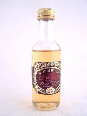 Miniature circa 1978 TULLIBARDINE 10YO Malt Whisky Isle of Wine