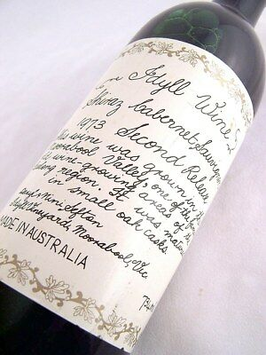 1973 Idyll Vineyard Shiraz Cabernet Sauvignon Isle of Wine