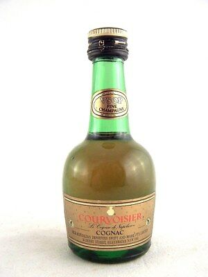 Miniature circa 1976 COURVOISIER VSOP Cognac Isle of Wine