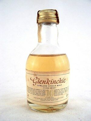 Miniature circa 1974 GLENKINCHIE 10YO Malt Whisky Isle of Wine