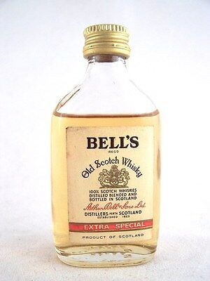 Miniature circa 1964 BELLS Scotch Whisky Isle of Wine