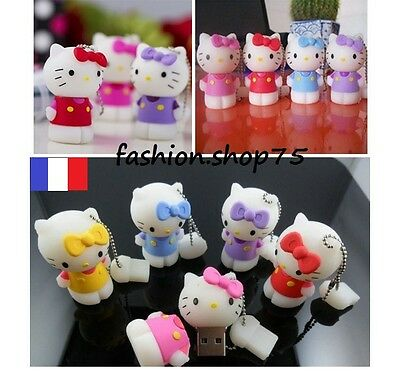 Clé Usb 8 Giga Hello Kitty