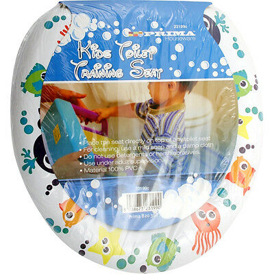 Kids Toilet Training Seat Potty Child Toddler Padded Soft Pvc Removable Kid New