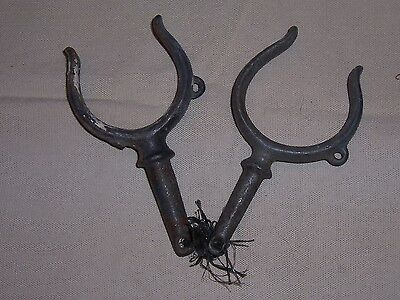 Vintage Antique Oar Locks Boat Row Boat Replacement Part Old