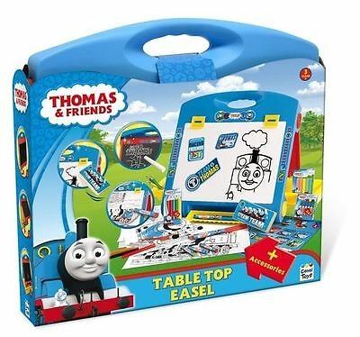 Thomas The Tank Engine & Friends Table Top Easel Blackboard Whiteboard Drawing