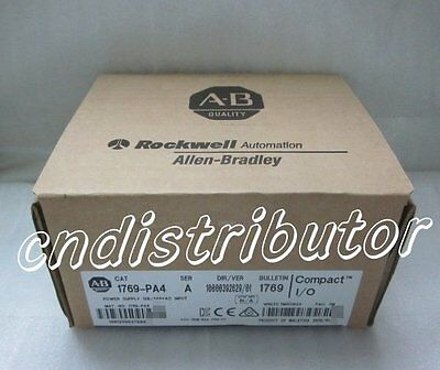 New In Box ! AB 1769-PA4 ( 1769PA4 ) PLC Power Supply , Factory Sealed !
