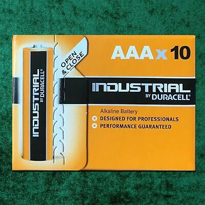 10X Duracell Procell Industrial AAA Alkaline Batteries LR03 Battery Flash Torch