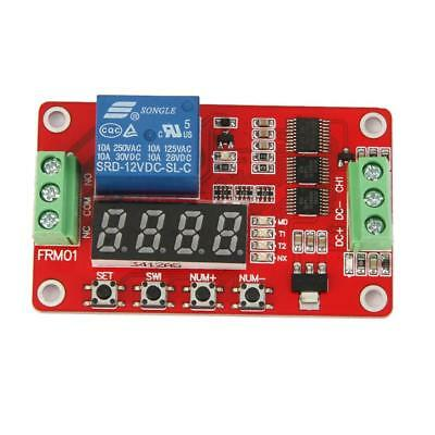 Multifunction Latching Relay Cycle Timer Delay Module Home Automation 12V