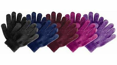 Magic Gloves Riding Pimple Grip Gloves Childs / Adults - Choose Colour / Size