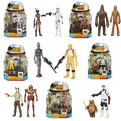 Official Disney Star Wars Rebels New Mission Series Action Figure Double Pack