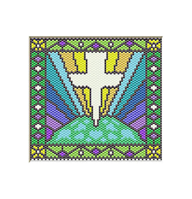 Christ Is The Light Of The World Beaded Banner Pdf Pattern Only
