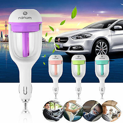 Car Aromatherapy Essential Oil Diffuser Ultrasonic Air Humidifier Purifier 50ML