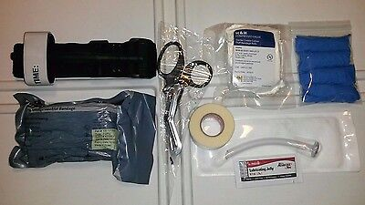 Complete USGI Medical IFAK Trauma Kit Refill Supplies w/ Red Tip Tourniquet 2016