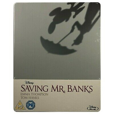 Saving Mr Banks Steelbook - UK Exclusive Limited Edition Blu-Ray *Paint Flaws*