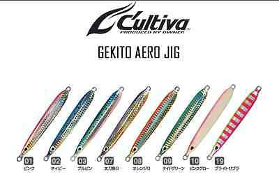 Artificiale Gekito Aero Gja-30 Colore 02 Cultiva Owmner Metal Jig Lure Spinning