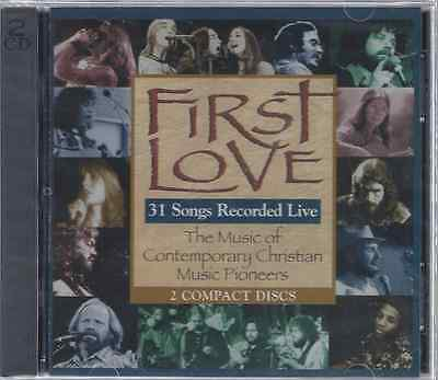First Love-31 Songs Recorded Live 2 CD Set  Early Jesus Music (Brand New-Sealed)