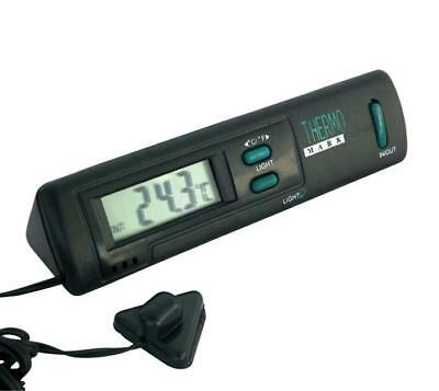 Car Thermometer Indoor & Outside Temperatures - 3M Cable & Display