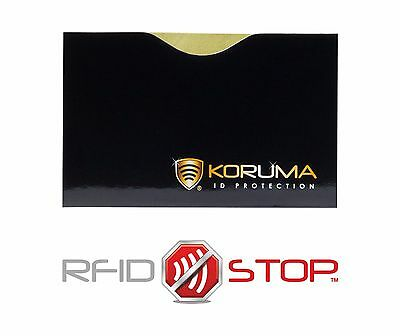 RFID Blocking Card sleeve NFC Contactless 100% protector | FREE UK PP LOT