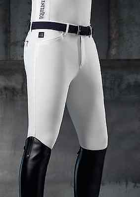 Equiline Men's Breeches – Willow  white. 38""