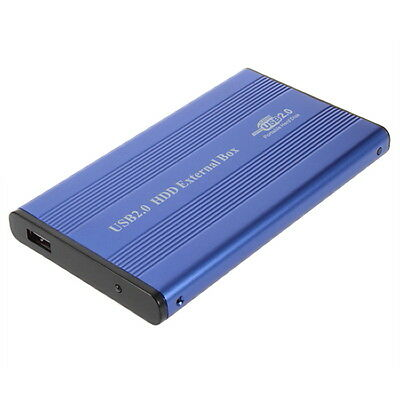 USB 2.0 2.5 IDE Hard Drive Disk HDD External Case Enclosure Box for Laptop PC D@