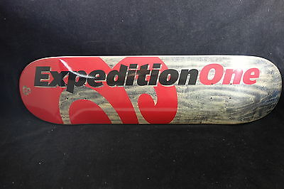 Expedition One Skateboard Deck Price Point Red 8.06 Free Grip Tape