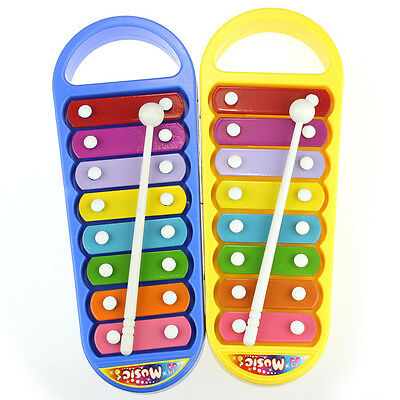 Kids Baby Musical Instrument 8-Note Xylophone Toy Wisdom Development Gift Toys