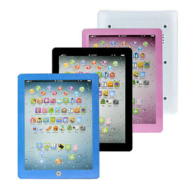 Child Kids Touch Type Computer Tablet English Learning Study Machine Toy Gifts