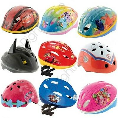 Childrens Disney & Character Design Safety Cycle Helmets Bike Scooter Skateboard