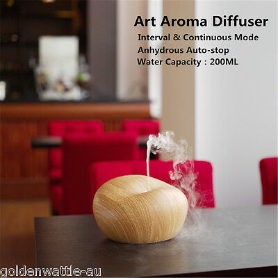 500ML Essential Oil Aroma Diffuser Ultrasonic Air Humidifier Fragrance Purifier