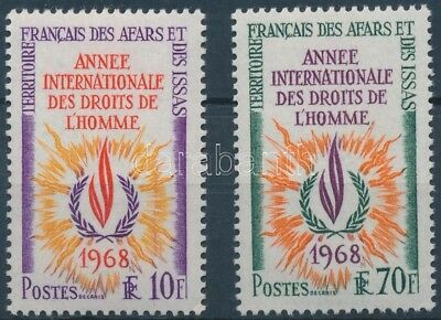 French Territories Affar and Issa stamp International human rights year WS183920