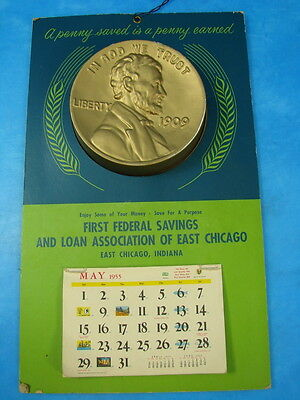 First Federal Savings and Loan Association of East Chicago Calendar Bank