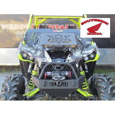 Wild Boar Front Bumper With Winch Mount Can Am Maverick 800 1000 All Years