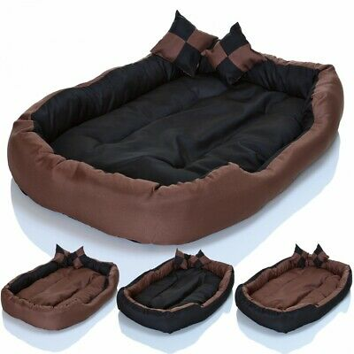 LCP 4in1 Lit pour chien coussin panier animaux xl couchage canap tapis corbeille