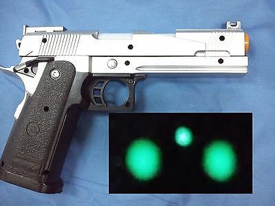 M1911 kimber Toy gun slide move night sight cosplay lapd police swat officer meu