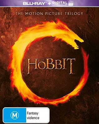 The Hobbit Trilogy Blu Ray RB An Unexpected Journey, Desolation of Smaug, Battle