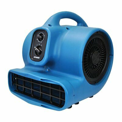 XPOWER P-450AT 1/3 HP 2000 CFM Freshen Scented Air Mover w/ Timer & Daisy Chain