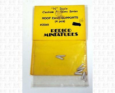 Period Miniatures N Parts: Roof Eave Supports 2041