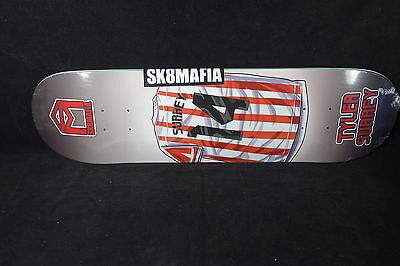 Sk8Mafia Skateboard Deck Hall Of Fame Tyler Surrey 8.12 Grizzly Grip Sk8 Mafia