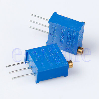 10pcs 3296 W High Precision Trimmer Potentiometer Variable Resistor 104 100K HM