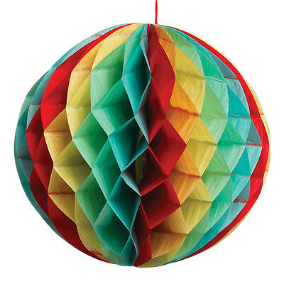 dotcomgiftshop SMALL HONEYCOMB PAPER BALL. WEDDING VINTAGE PARTY DECORATION