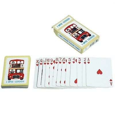 dotcomgiftshop I LOVE LONDON COOL PLAYING CARDS