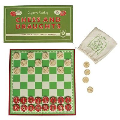 dotcomgiftshop CHESS AND DRAUGHTS BOARD GAME